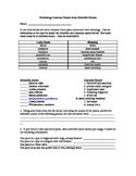 Binomial Nomenclature Worksheet