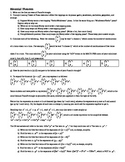 Binomial Theorem - with answer key (Editable)