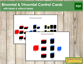 Binomial and Trinomial Control Cards