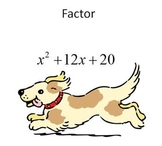 Binomial and Trinomial Factoring Bingo