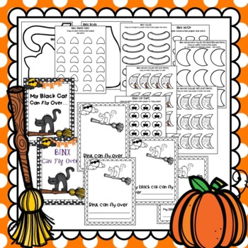 Binxy Cat, Class Book & Writing Activity: Halloween Craft