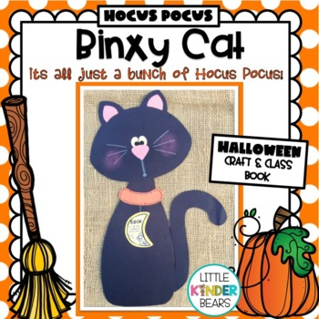 Halloween Cat Crafts: Binxy Cat, Class Book & Writing Activity: Halloween Crafts