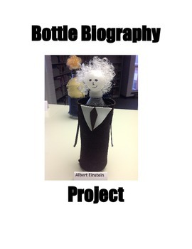 Biography Bottle Project - Bio Bistro