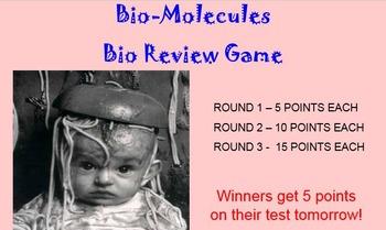 Bio-Molecules  Review Game