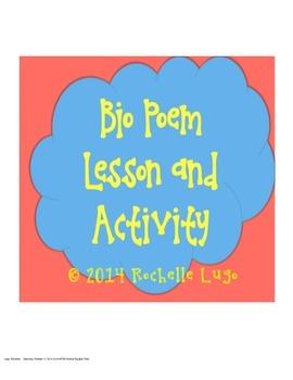 Bio Poem Lesson and Activity