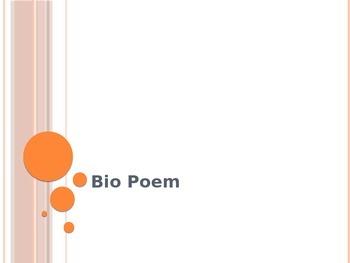 Bio Poem Power Point