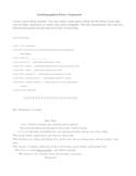 Bio Poem Recipe
