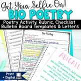 Bio Poem | First Day of School Activities