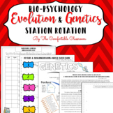 Bio-Psychology: Evolution & Genetics Station Rotation