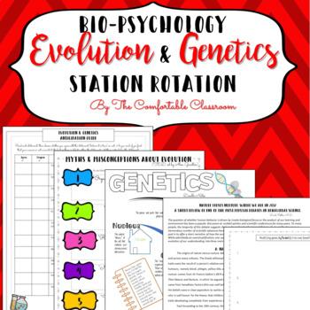 Bio-Psychology: Evolution & Genetics Station Rotation