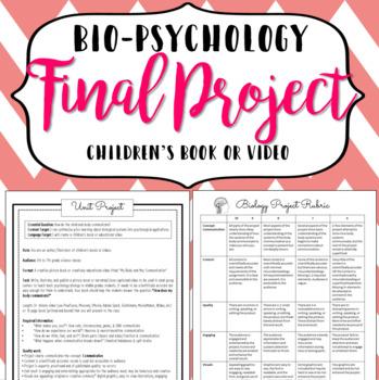 Bio Psychology Unit Project