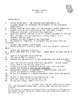 Bio Safety Contract & Personal Info Handout