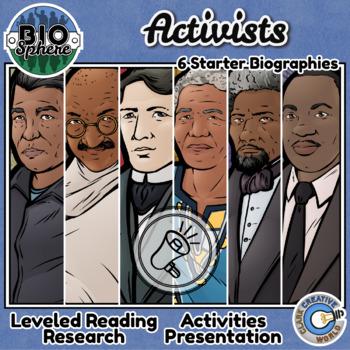 Bio Sphere - Activists Bundle #2 - Reading, Slides & Activities