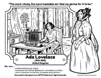 Bio Sphere - Ada Lovelace - Differentiated Reading, Slides & Activities