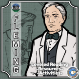 Bio Sphere - Alexander Fleming - Differentiated Reading, Slides & Activities