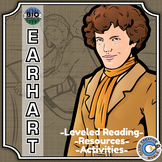 Bio Sphere - Amelia Earhart - Differentiated Reading, Slides & Activities