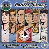 Bio Sphere - Ancient History Women - Reading & Activities