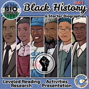 Bio Sphere - Black History Month Bundle #1 - Reading, Slides & Activities