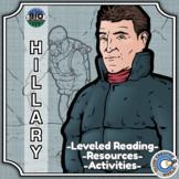 Bio Sphere - Edmund Hillary - Differentiated Reading, Slides & Activities