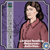 Bio Sphere - Elizabeth Blackwell - Differentiated Reading, Slides & Activities