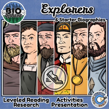 Bio Sphere - Explorers Bundle #1 - Reading, Slides & Activities
