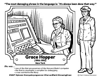 Bio Sphere - Grace Hopper - Differentiated Reading, Slides & Activities
