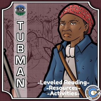 Bio Sphere - Harriet Tubman - Differentiated Reading, Slides & Activities