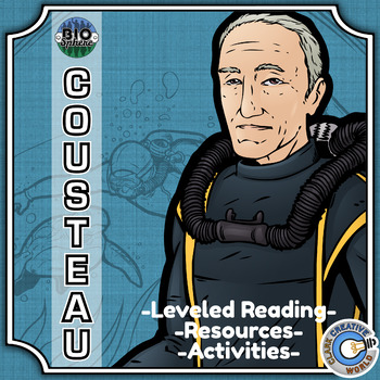 Bio Sphere - Jacques Cousteau Resources - Differentiated Leveled Reading & Fun