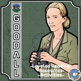 Bio Sphere - Jane Goodall - Differentiated Reading, Slides & Activities