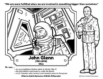 Bio Sphere - John Glenn - Differentiated Reading, Slides & Activities