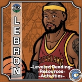 Bio Sphere - LeBron James - Differentiated Reading, Slides & Activities