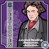 Bio Sphere - Ludwig van Beethoven - Differentiated Reading, Slides & Activities