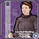 Bio Sphere - Marie Curie - Differentiated Reading, Slides & Activities
