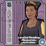 Bio Sphere - Maya Angelou - Differentiated Reading, Slides & Activities