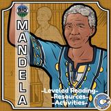Bio Sphere - Nelson Mandela - Differentiated Reading, Slides & Activities