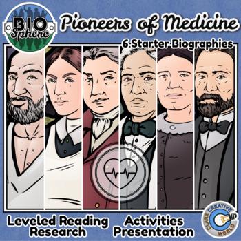Bio Sphere - Pioneers of Medicine Bundle #1 - Reading, Slides & Activities
