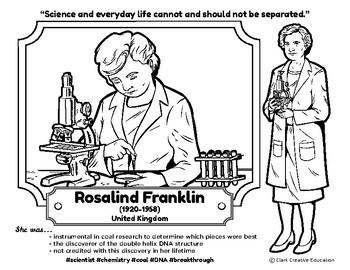 Bio Sphere - Rosalind Franklin - Differentiated Reading, Slides & Activities