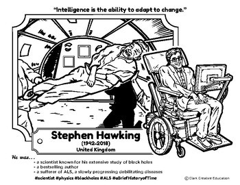 Bio Sphere - Stephen Hawking - Differentiated Reading, Slides & Activities
