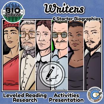 Bio Sphere - Writer Bundle #1 - Reading, Slides & Activities