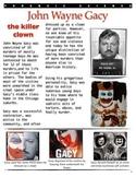Forensics - Bio of John Wayne Gacy w/key
