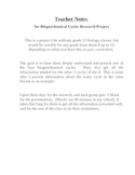 BioGeoChemical Cycles Research Project