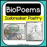 BioPoems - AVID Back to School