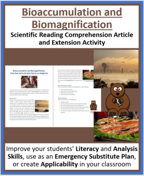 Bioaccumulation and Biomagnification - Science Reading Article - Grades 5-7
