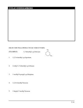 Biochem worksheet 2