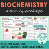 Biochemistry Activity Package- Enzymes, Organic Molecules, Chemistry of Life