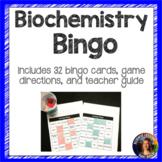 Biochemistry Bingo Vocabulary Review Game
