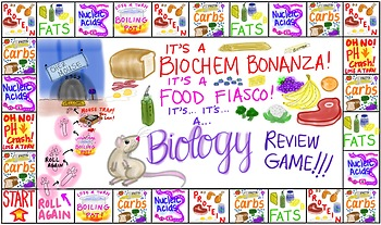 Biochemistry / Biochem Review Game Board