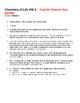 Biochemistry - Chemistry of Life HW 3
