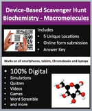Biochemistry - Macromolecules – Device-Based Scavenger Hunt Activity