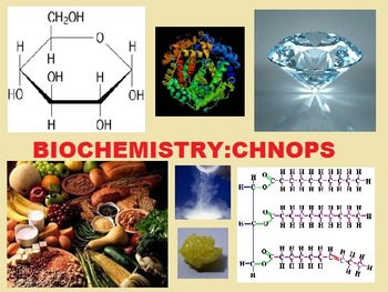 Biomolecules and CHNOPS Power point